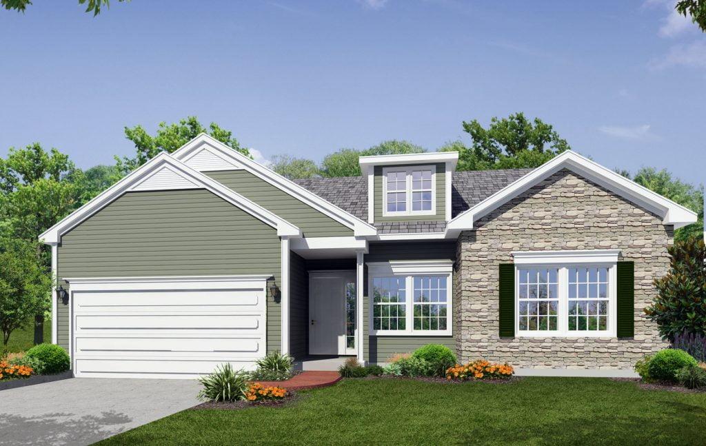 The Aspen New Home Construction in Ballston Lake, NY Saratoga County, NY & Clifton Park, NY