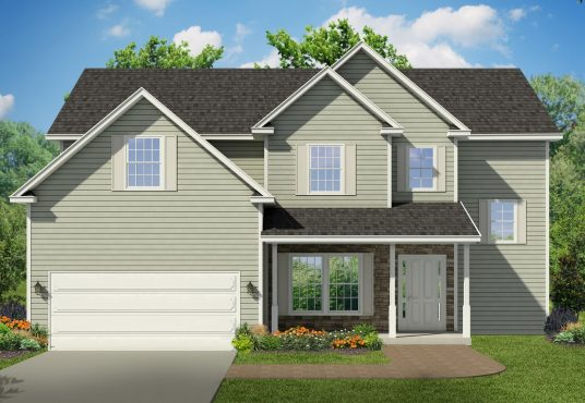 The Balsam New Home Construction Ballston Lake, NY Saratoga County, NY & Clifton Park, NY