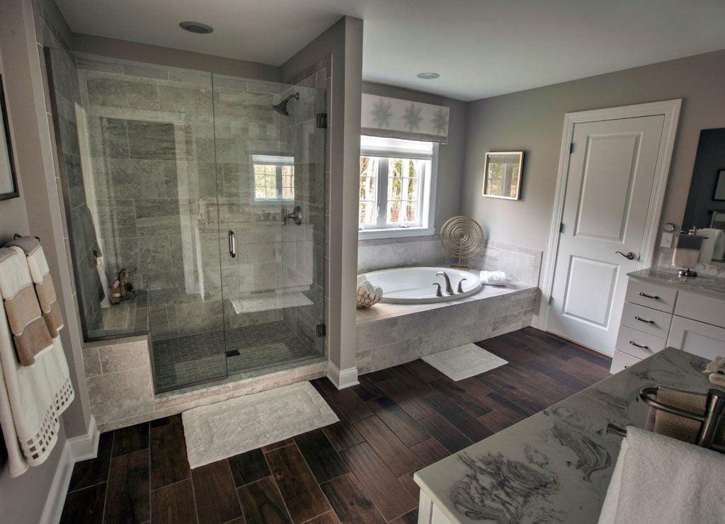 Master Bath Floor Plans Saratoga County Ny Heritage Custom Builders