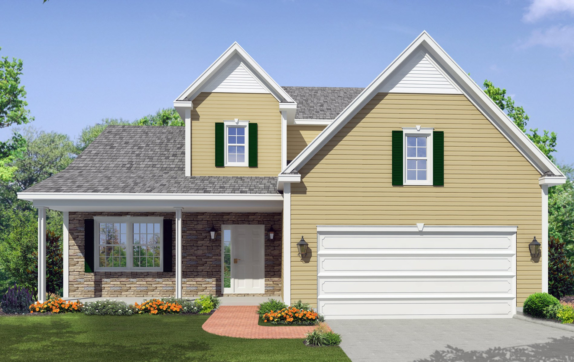 The Basswood New Home Construction in Ballston Lake, NY Saratoga County, NY & Clifton Park, NY