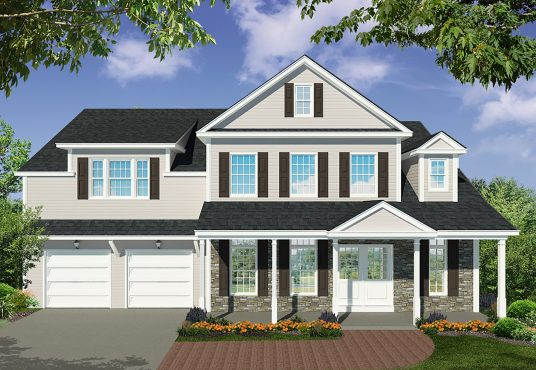 The Cherry Tree New Home Construction in Ballston Lake, NY Saratoga County, NY & Clifton Park, NY