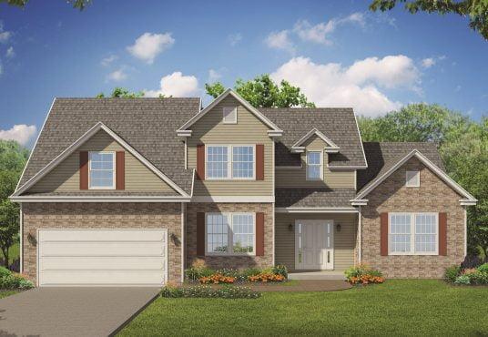 The Hawthorn New Home Construction in Ballston Lake, NY Saratoga County, NY & Clifton Park, NY