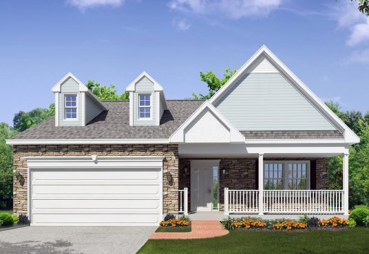 The Hickory New Home Construction in Ballston Lake, NY Saratoga County, NY & Clifton Park, NY