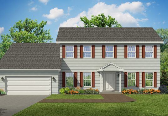 The Mahogany New Home Construction in Ballston Lake, NY Saratoga County, NY & Clifton Park, NY