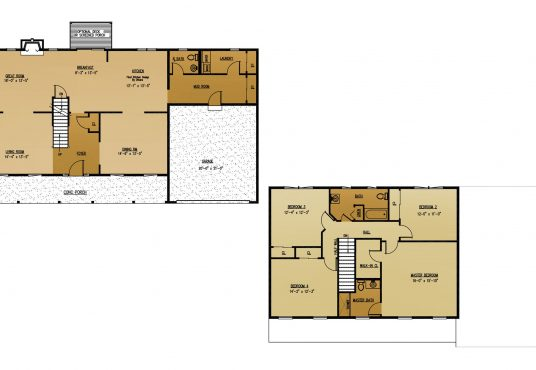 The Olive New Home Construction Floor Plan in Ballston Lake, NY Saratoga County, NY & Clifton Park, NY