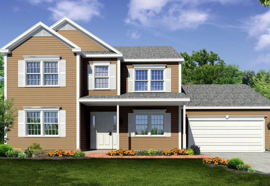 The Redwood New Home Construction in Ballston Lake, NY Saratoga County, NY & Clifton Park, NY