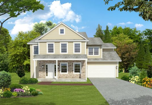 The Teakwood New Home Construction in Ballston Lake, NY Saratoga County, NY & Clifton Park, NY
