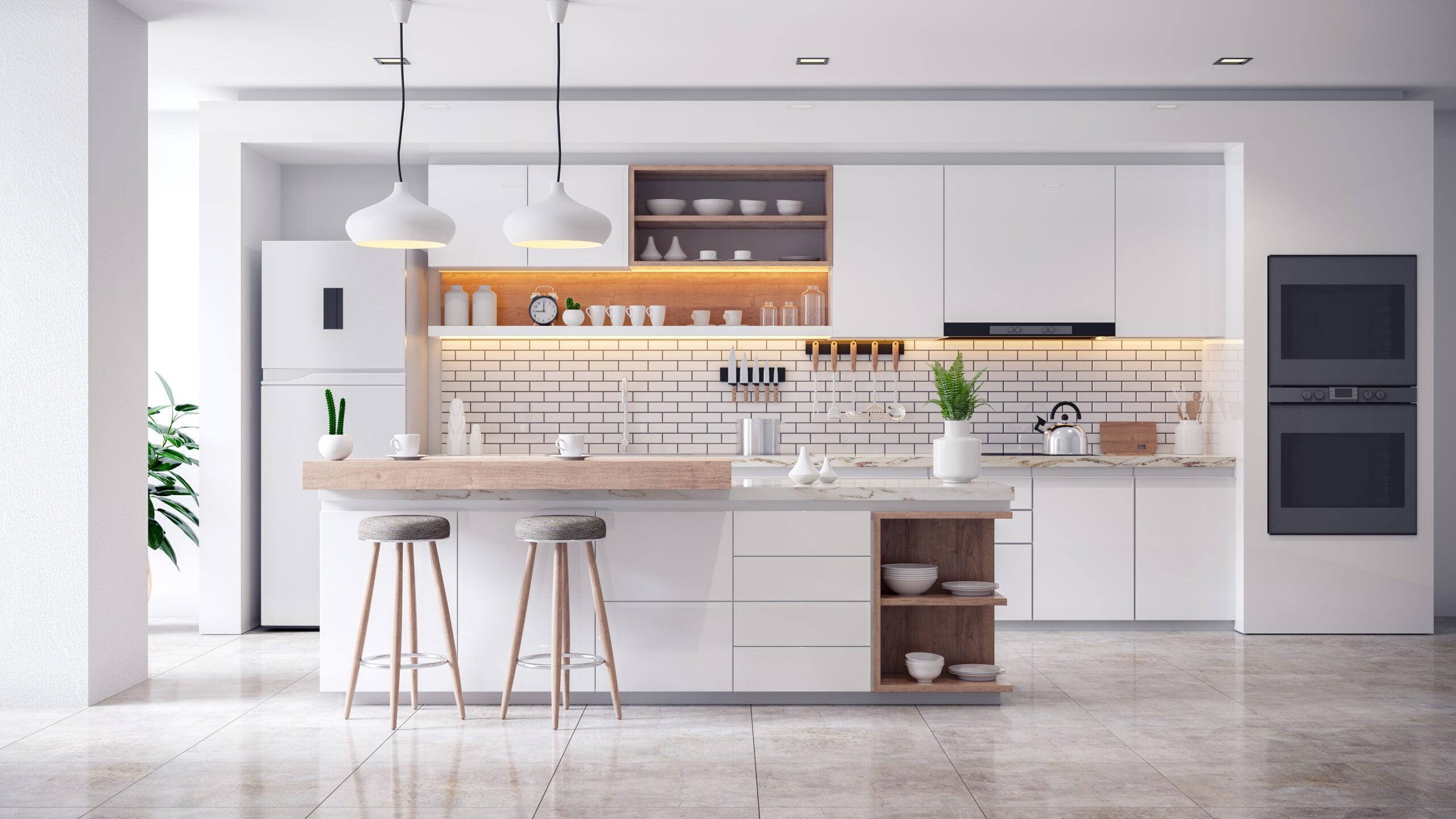 modern kitchen design with personalization